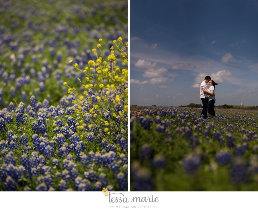 fort worth engagement pictures texas wildflower engagement pictures-0052