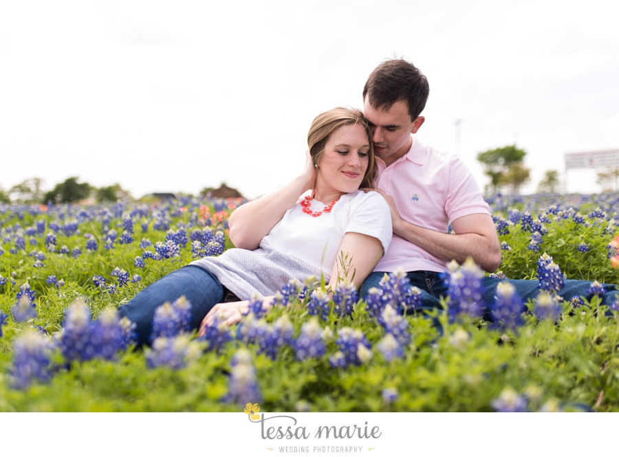 fort worth engagement pictures texas wildflower engagement pictures-0059