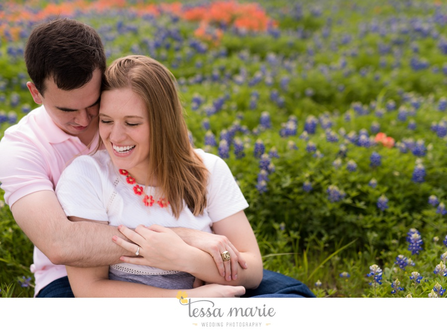 fort worth engagement pictures texas wildflower engagement pictures-0060
