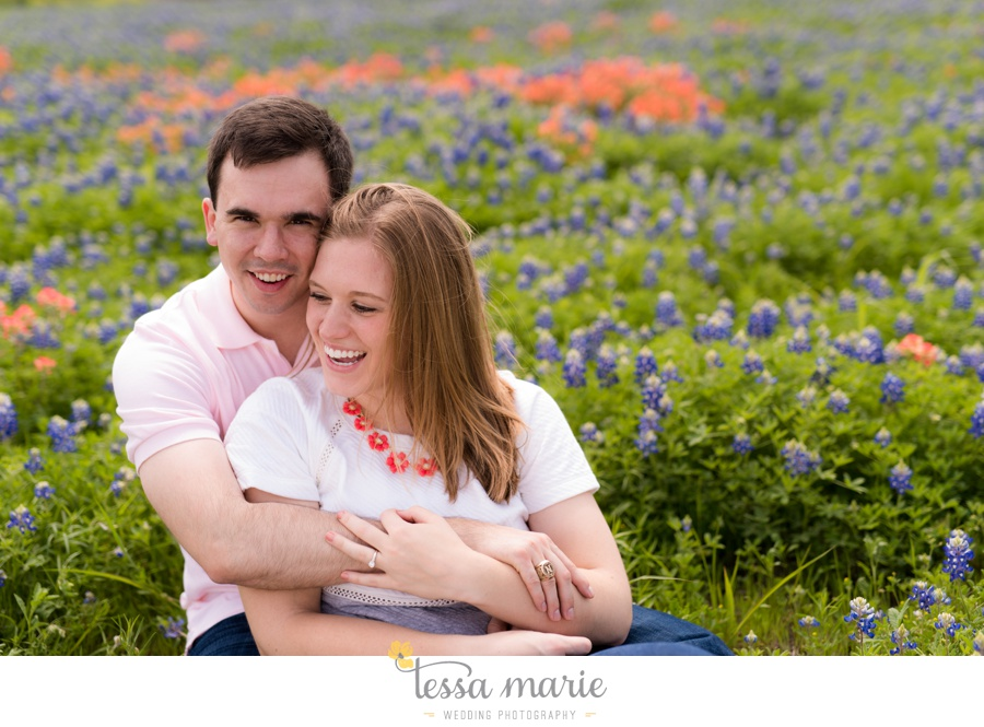 fort worth engagement pictures texas wildflower engagement pictures-0062