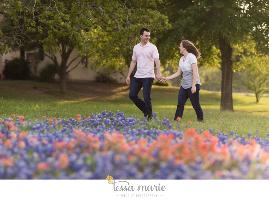 fort worth engagement pictures texas wildflower engagement pictures-0073