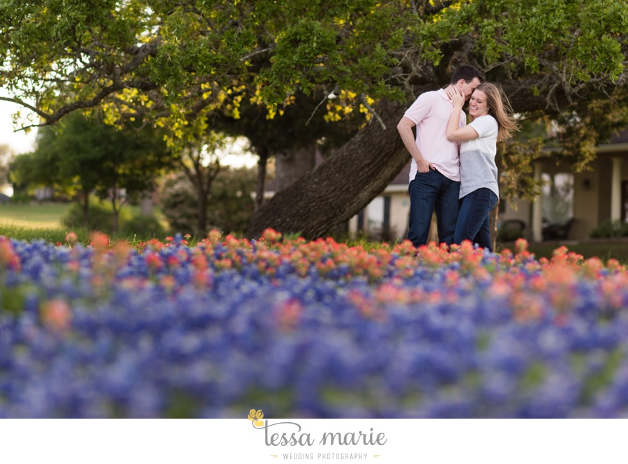 fort worth engagement pictures texas wildflower engagement pictures-0075