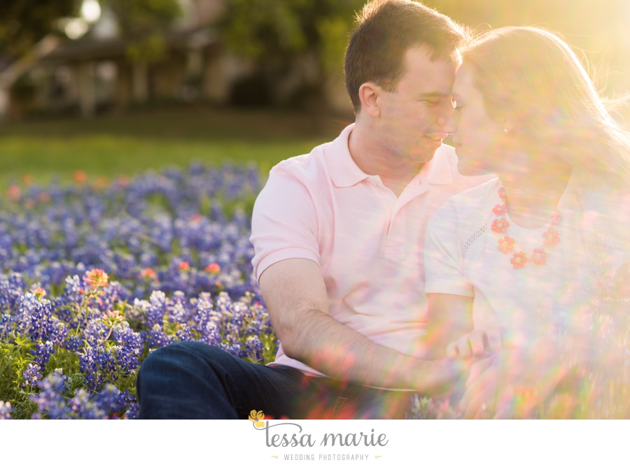 fort worth engagement pictures texas wildflower engagement pictures-0082